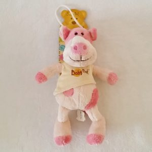 Doudou Cochon rose écru pull beige BABY NAT