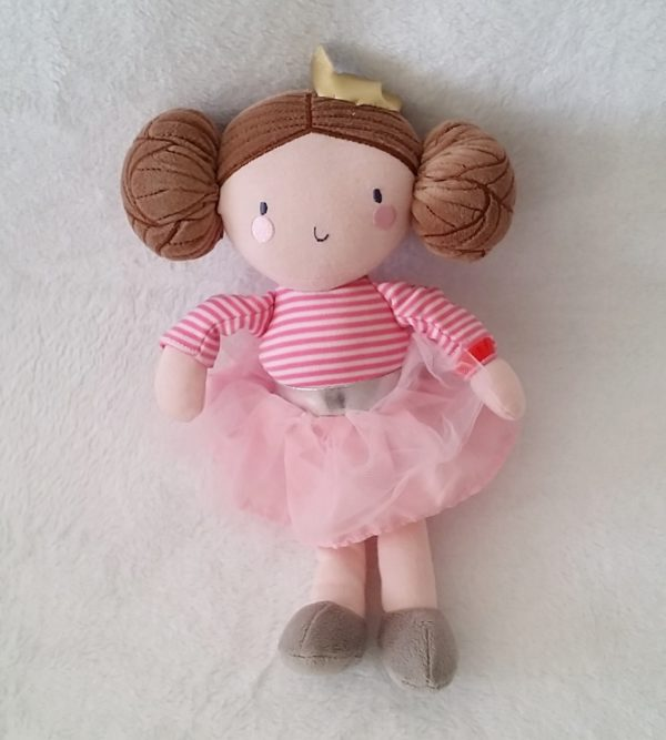 Doudou poupée rose ORCHESTRA