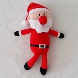 Doudou Père Noël rouge et blanc Orchestra Prémaman