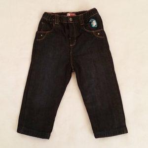 Pantalon jean bleu doublé bébé garçon 18 MOIS DPAM