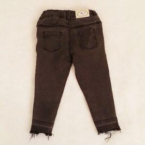 Pantalon jean gris bébé fille 24 MOIS GEMO