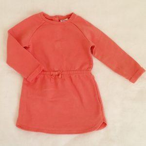 Robe rose paillettes or bébé fille 24 MOIS TAPE A L'OEIL