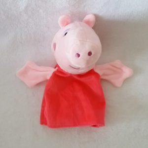 Doudou marionnette Cochon Peppa Pig PIMCHOU