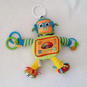Rusty le Robot jouet éveil bébé à accrocher LAMAZE