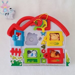 Jouet éveil bébé musical clés animaux NAVYSTAR