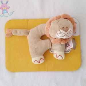 Hochet doudou Lion beige orange BENGY