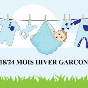 GARCON HIVER 18/24 MOIS