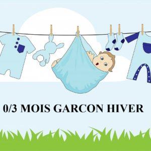 GARCON HIVER 0/3 MOIS