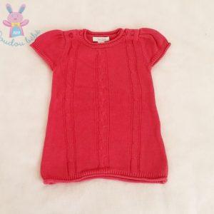 Robe mailles rose bébé fille 3 MOIS OBAIBI