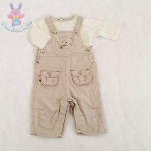 Ensemble Salopette rayée + T-shirt bébé garçon 3 MOIS SERGENT MAJOR