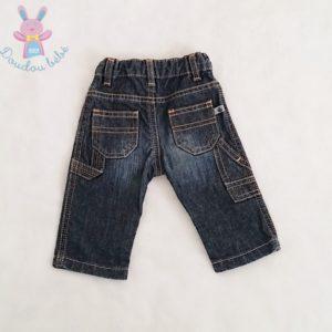 Pantalon jean bleu bébé garçon 3 MOIS PETIT BATEAU