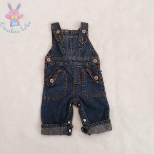 Salopette jean bleu bébé garçon 3 MOIS