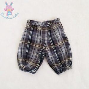 Pantalon molletonné carreaux bébé garçon 3 MOIS JACADI