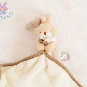 Doudou Lapin beige couverture Un rêve de bébé