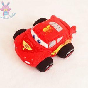 Peluche voiture Flash McQueen rouge Cars DISNEY