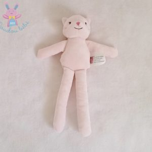 Doudou Chat rose PETIT KIMBALOO
