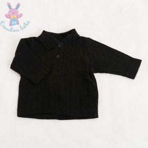 Polo noir bébé garçon 1 MOIS H&M