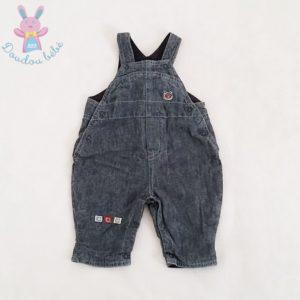 Salopette jean bleu doublée bébé garçon 1 MOIS OBAIBI