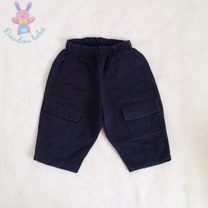 Pantalon jogging bleu marine bébé garçon 1 MOIS