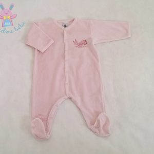 Pyjama velours bébé fille 6 MOIS PETIT BATEAU