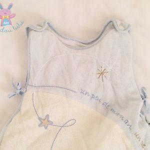 Gigoteuse bleu blanc bébé 0/6 MOIS SAUTHON