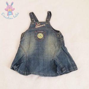 Robe bretelles jean bleu bébé fille 6 MOIS