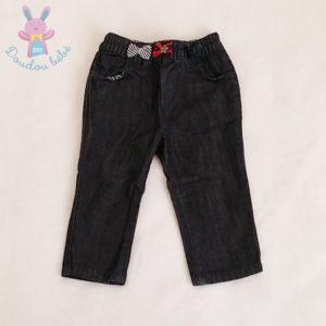 Pantalon jean bleu bébé fille 6 MOIS IKKS