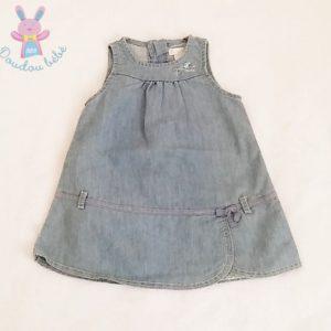 Robe sans manches jean bleu clair bébé fille 6 MOIS OBAIBI