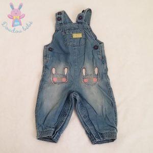 Salopette jean bleu bébé fille 6/9 MOIS M&S