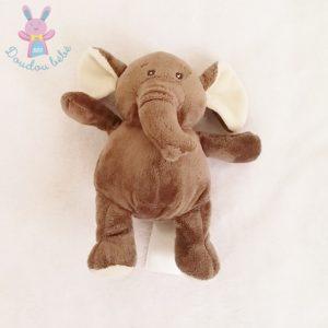Doudou éléphant gris beige H&M