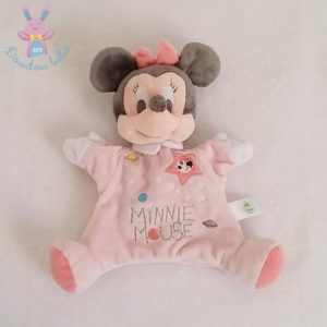 Doudou marionnette Minnie rose étoiles planètes DISNEY