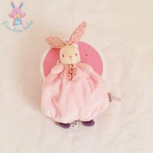 Doudou marionnette Lapin Petite Rose KALOO