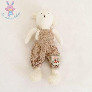 Doudou Mouton beige Grande Famille MOULIN ROTY