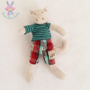 Doudou Chat Mimosa Grande Famille MOULIN ROTY