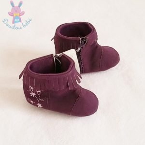 Bottines violette bébé fille Taille 19