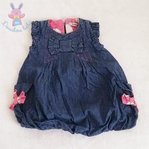 Robe boule jean bleu bébé fille 12 MOIS TAPE A L'OEIL