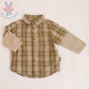 Chemise carreaux bébé garçon 6 MOIS OBAIBI