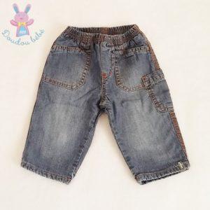 Pantalon jean bleu doublé bébé garçon 4/6 MOIS MEXX