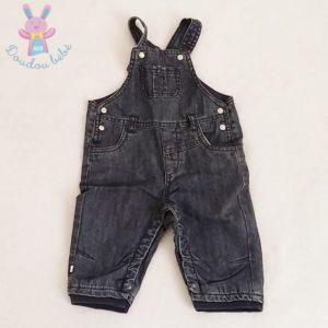 Salopette jean bleu doublé bébé garçon 6 MOIS OBAIBI