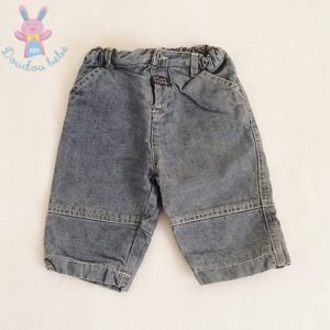 Pantalon jean bleu bébé garçon 6 MOIS PETIT BATEAU