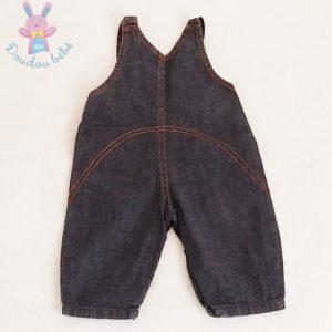 Salopette jean bleu bébé garçon 6 MOIS ABSORBA