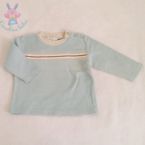 T-shirt bleu bébé garçon 6/9 MOIS H&M