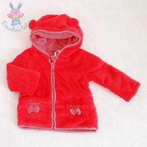 Sweat à capuche polaire bébé fille 9 MOIS ORCHESTRA