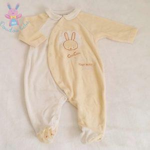 Pyjama velours bébé garçon 6 MOIS SUCRE D'ORGE