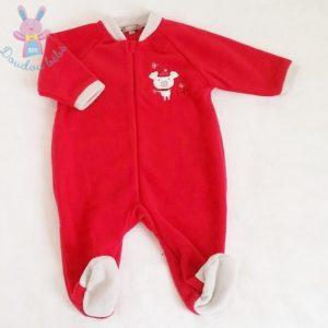 Sur-pyjama polaire rouge bébé garçon 6 MOIS BEBE 9