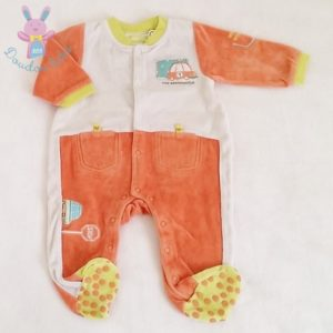 Pyjama velours bébé garçon 6 MOIS ORCHESTRA