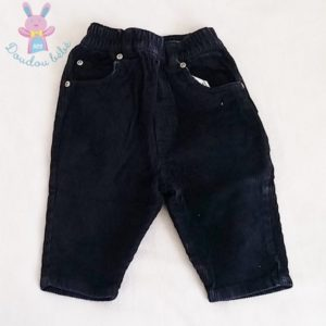 Pantalon velours marine bébé garçon 12 MOIS