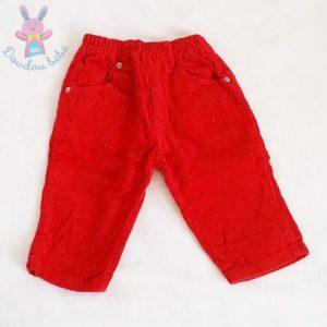 Pantalon velours bébé garçon 12 MOIS