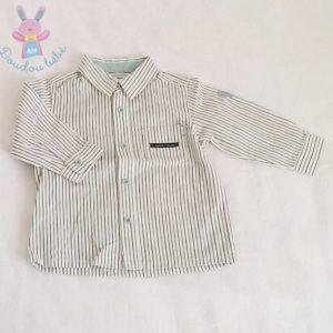 Chemise rayée bébé garçon 12 MOIS SERGENT MAJOR