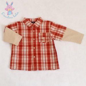 Chemise à carreaux bébé garçon 12 MOIS SERGENT MAJOR